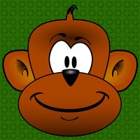 Funny Jumper Monkey eat Fruit Game for Kids