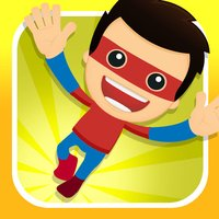 A Clumsy Superhero FREE - Awesome Warrior Flying Race