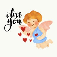 Valentine's Days Watercolor