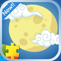 Jigsaw Puzzle Cartoon for kids version:Moon Man