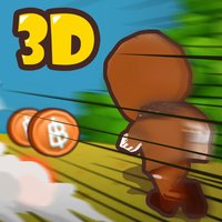 Amazing Chocolate Cookie Man Run 3D - Dash in Candy Sweet land