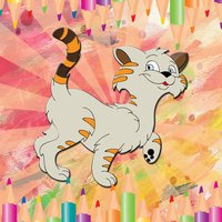 Neko Cute Cat Coloring Book for preschool