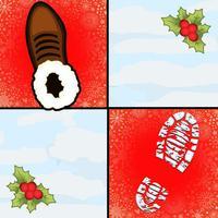 Christmas Santa Make It Tile Dash - don't step the white piano tiles