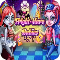 dress up & shower fright mare