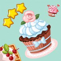 Cake Sweet Candy Matching Pair