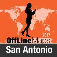 San Antonio Offline Map and Travel Trip Guide