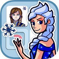 Memory game for girls: Ice Princess - learning game for girls