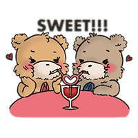 Cute Bears For Valentine Emoji