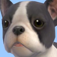 Bulldog - Animated Puppy Stickers