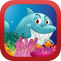 A Mega Hungry Dive with Shark Jump and Flying Dash - Cool Deep Sea Adventure Hunt Game