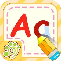 Preschool alphabet English ABC writing for kid