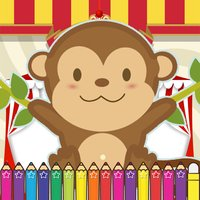 Monkeys Coloring Fun for kids the Third Edition