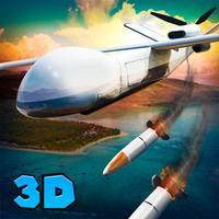 Shadow Quadcopter Drone Flight
