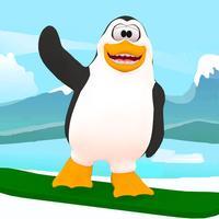 Penguin Snowboard Shredder Dash: Downhill Mountain Racing