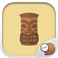 Aloha Set Cute Hawaiian Stickers for iMessage