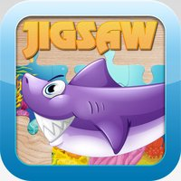 Sea Animals Jigsaw Puzzles for Kids and Toddler - Kindergarten and Preschool Learning Games Free