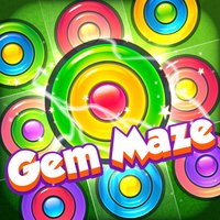 Gem Maze - Color Match Puzzle
