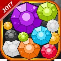 Diamond bubble mania: Bubbles ball shooter games