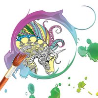 Coloring Pages: Color Therapy