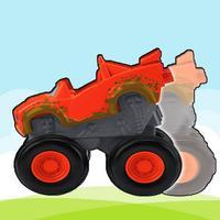Blaze Monster Jumper vs Axle City Boom Machine