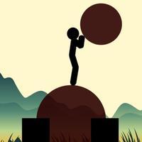 Stickman Blow (Balloon Hero)