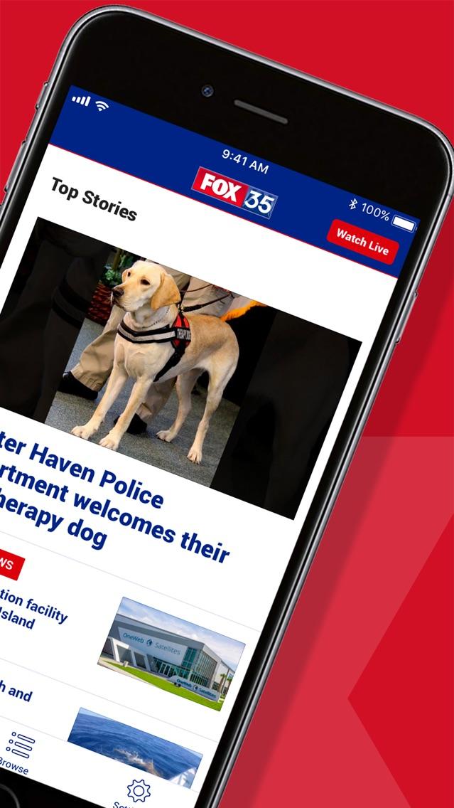 FOX 35 Orlando App for iPhone - Free Download FOX 35 Orlando for