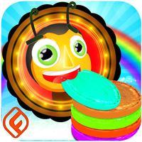Rainbow Pancake Eater Ant - Tap Hop & Jump