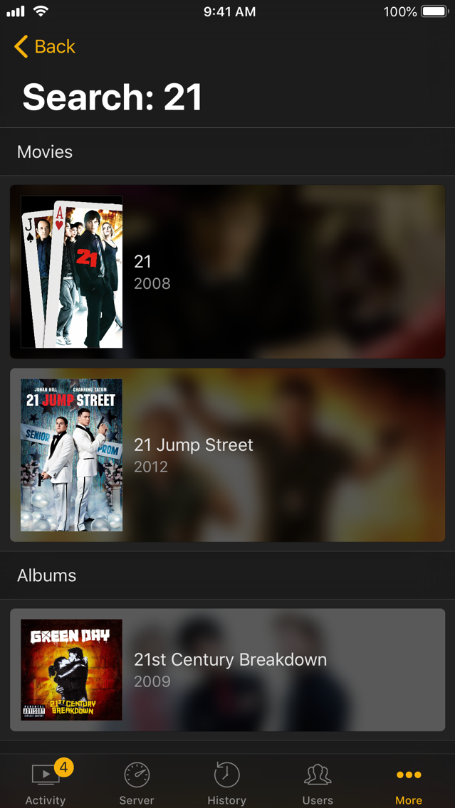 Varys for Plex App for iPhone - Free Download Varys for Plex