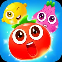 Fruits and vegetables jigsaw puzzles game for kids