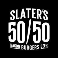 Slaters5050 Burgers Bacon Beer