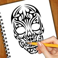 Learn How To Draw Skull Tattoos