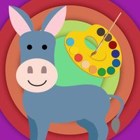 smart art: animal coloring and vocabulary learning