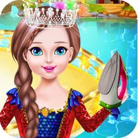 Ironing Princess Dresses Games for Girls