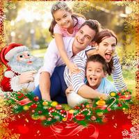 Christmas cards frames