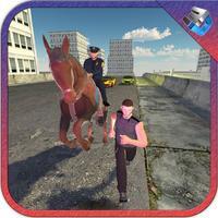 Police Horse Officer Duty & City Crime Simulator