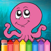 Children Ocean Fish Coloring Page - Games for kids