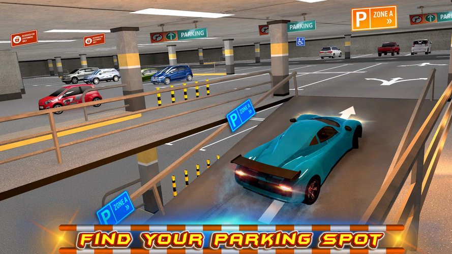 Multi-storey Car Parking 3D App for iPhone - Free Download