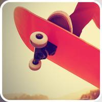 3D Skate-Board Half-Pipe Juggle Trick Pocket Game