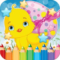 Chicken Drawing Coloring Book - Cute Caricature Art Ideas pages for kids