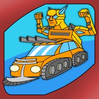 Doodle Guardians: Transformer Prime Fight in the Galaxy - Free Kids Game