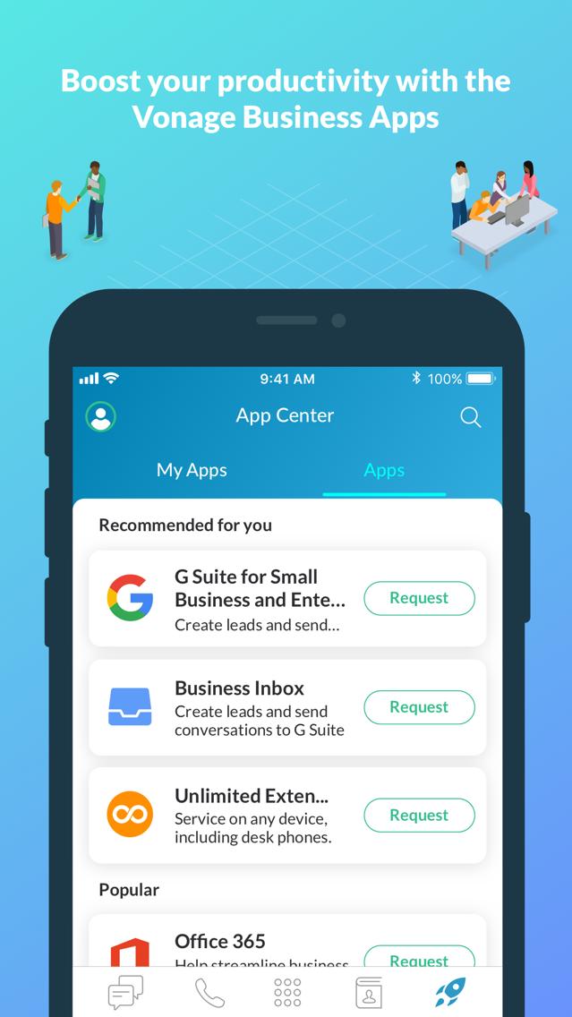 Vonage Business Cloud App for iPhone - Free Download Vonage