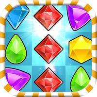 Jewel Crunch Mania - free 3 match puzzle game