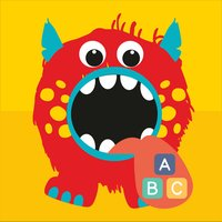 Monster Alphabet - spot the difference kids game where you have to find one monster and teach alphabet