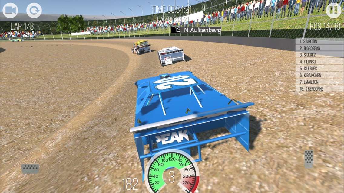 Outlaws - Dirt Track Racing App for iPhone - Free Download