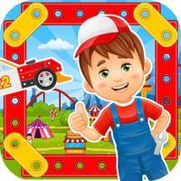 Car Builder Game: Police Car