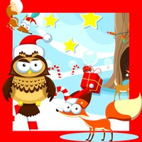Christmas Animals in The Winter Wonderland: Kids-Game & Tricky Puzzle for My Baby