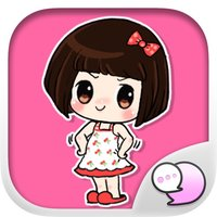 Noi Nae The Naughty Girl Stickers By ChatStick