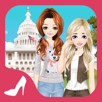 American Girls 2 - Dress up and make up game for kids who love fashion games