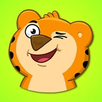 Little Cute Tiger Stickers