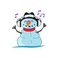 Snowman stickers by Jo